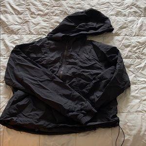 Cropped lululemon light coat